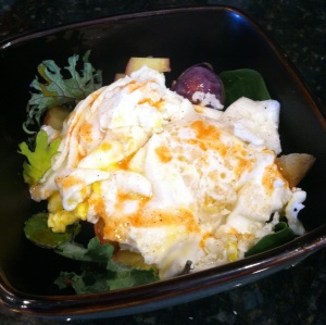 Eggs, veggies, spices